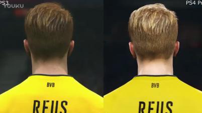 《实况足球2018》PS3对比PS4 Pro
