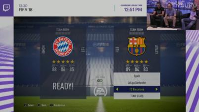 《FIFA 18》Switch版TV模式实机