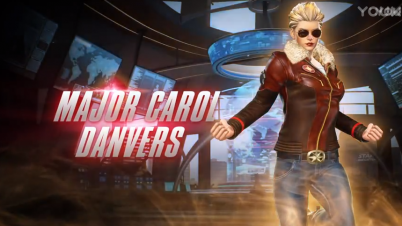 《漫画英雄vs卡普空:无限》惊奇队长服装
