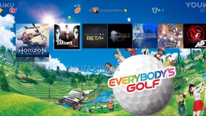 新大众高尔夫PS4免费主题