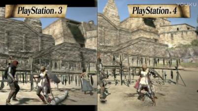 《龙之信条:黑暗崛起》PS4 PS3角色对比