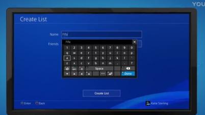 PS4固件5.0 自定义游戏群组功能