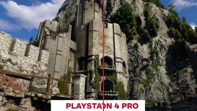 《巫师3》 PS4 Pro