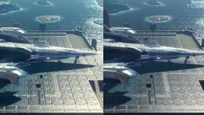 《星之海洋4》原版与高清版对比
