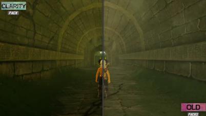 《塞尔达传说:荒野之息》新画质包演示