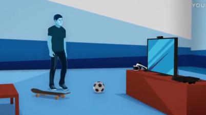 PSVR新型号介绍宣传