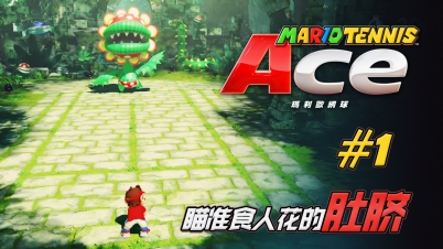【DEV】【瞄准食人花的肚脐】马力欧网球 Ace Mario Tennis Ace #1